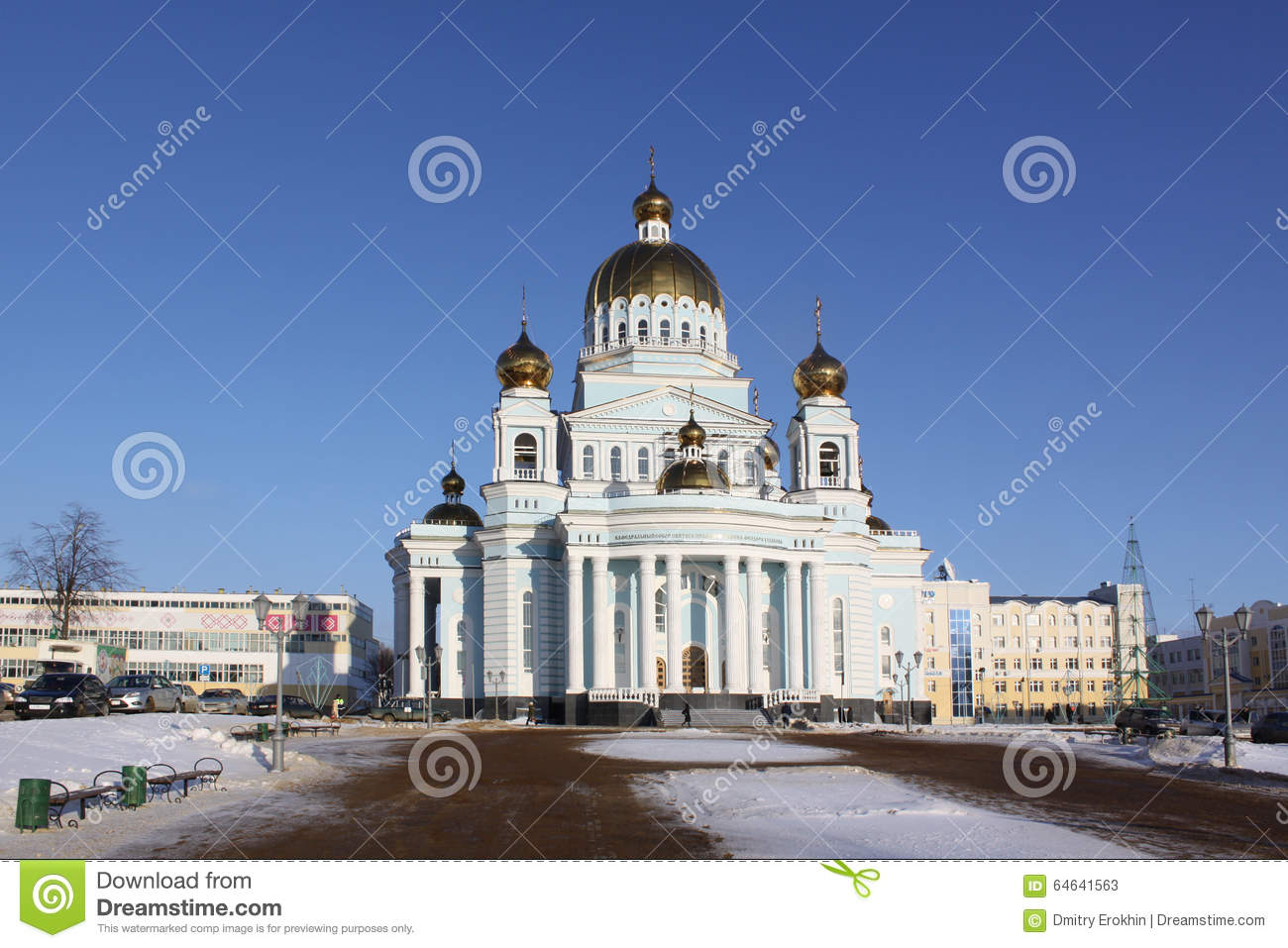 Saransk Russia  City pictures : Russia. Saransk. St. Theodor Ushakov`s Cathedral Editorial Stock Photo ...
