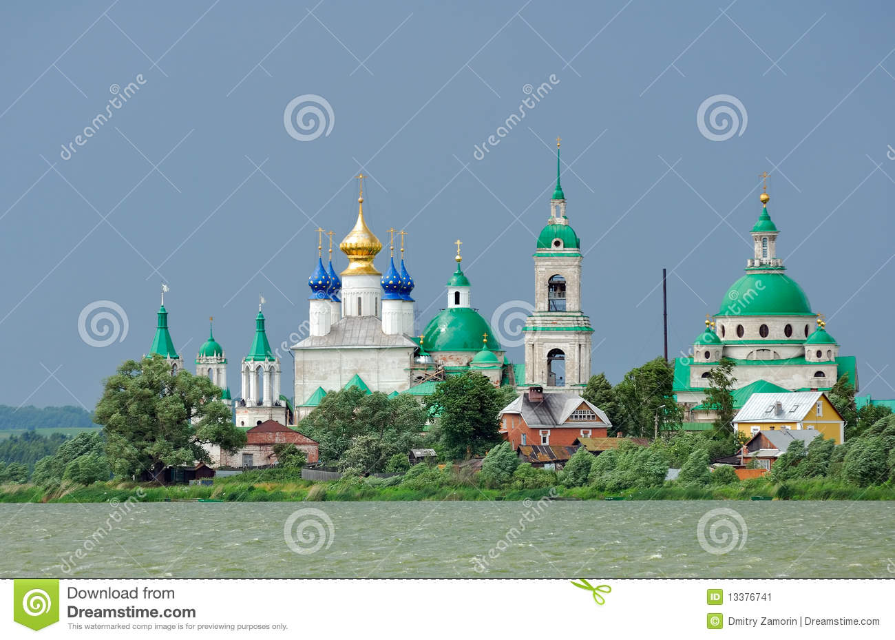Russia. Town Of Rostov The Great. Golden Ring Stock Image - Imagerussia town
