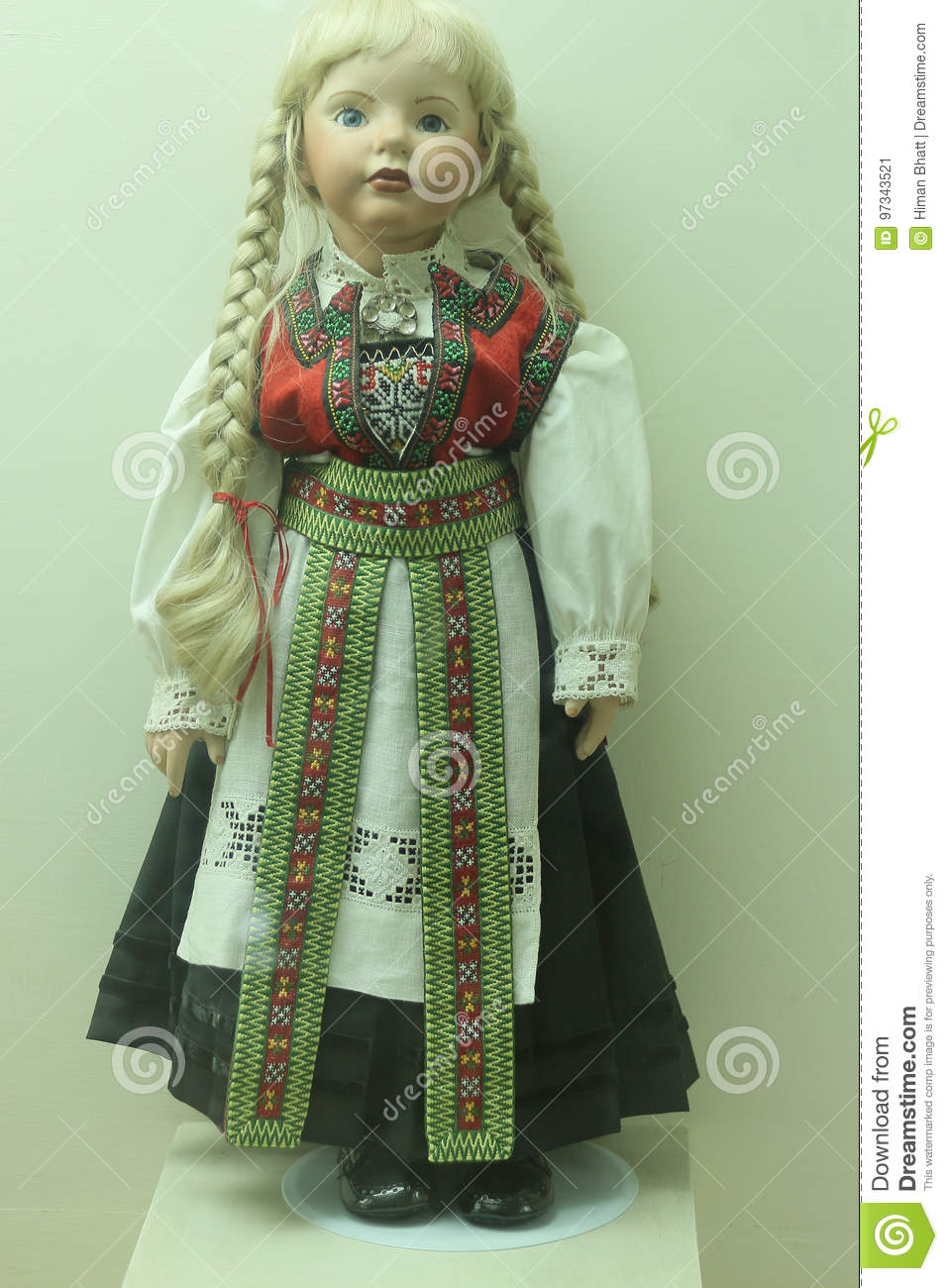 Russia Tradition Cloth Doll Editorial Photo - Image of knit, pattern ...