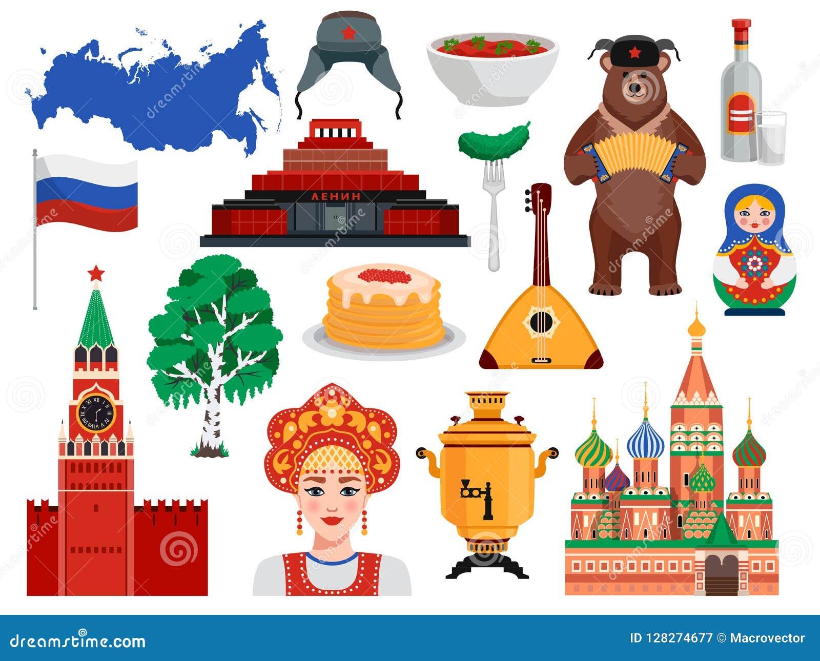Russia Travel Set