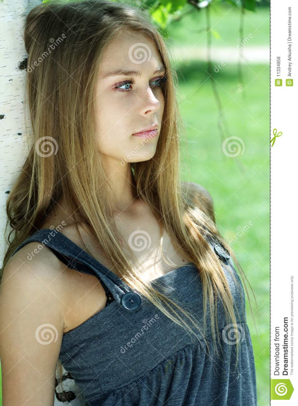 Beautiful Teen Girl: Russian Beauty Stock Photo. Image Of Europen, Nature