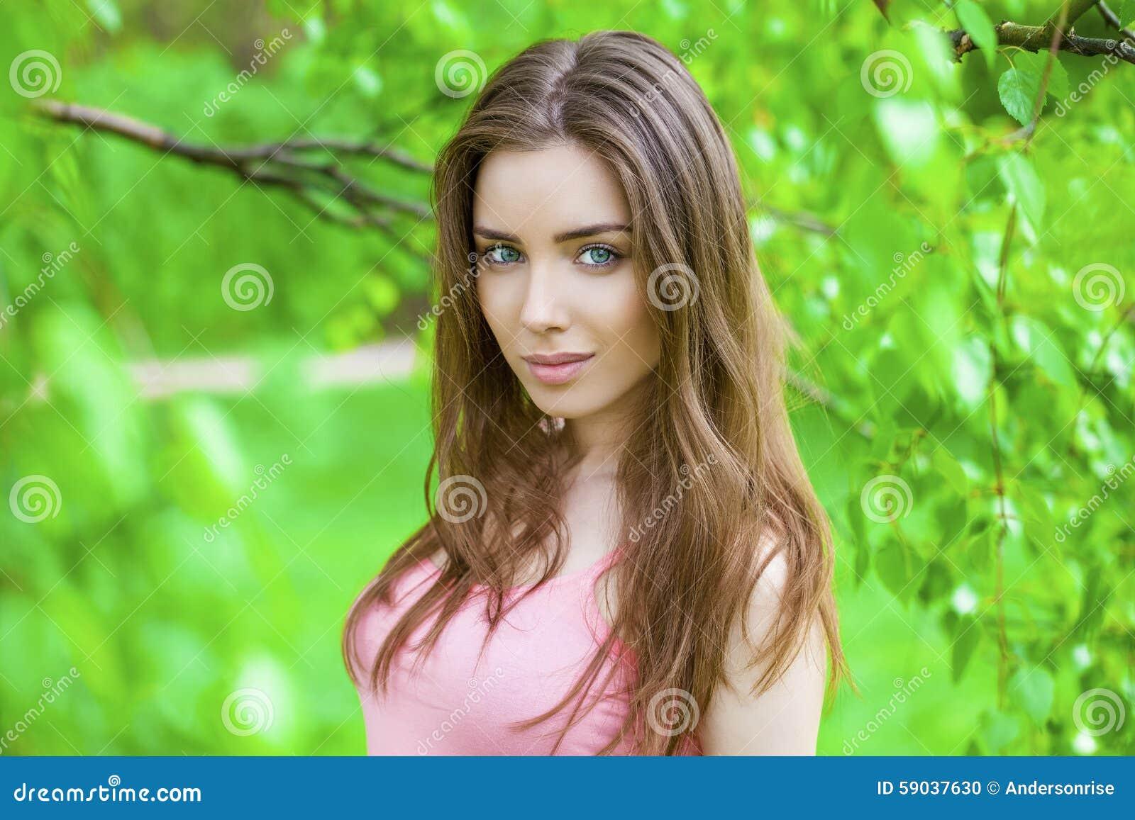 Russian brunett