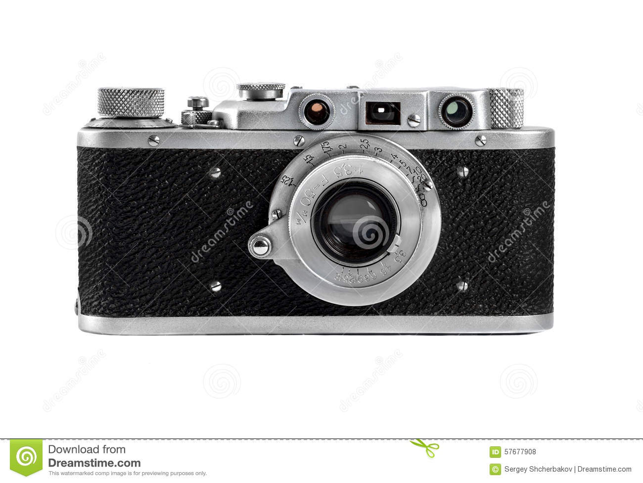 Russian camera FED 1930 production