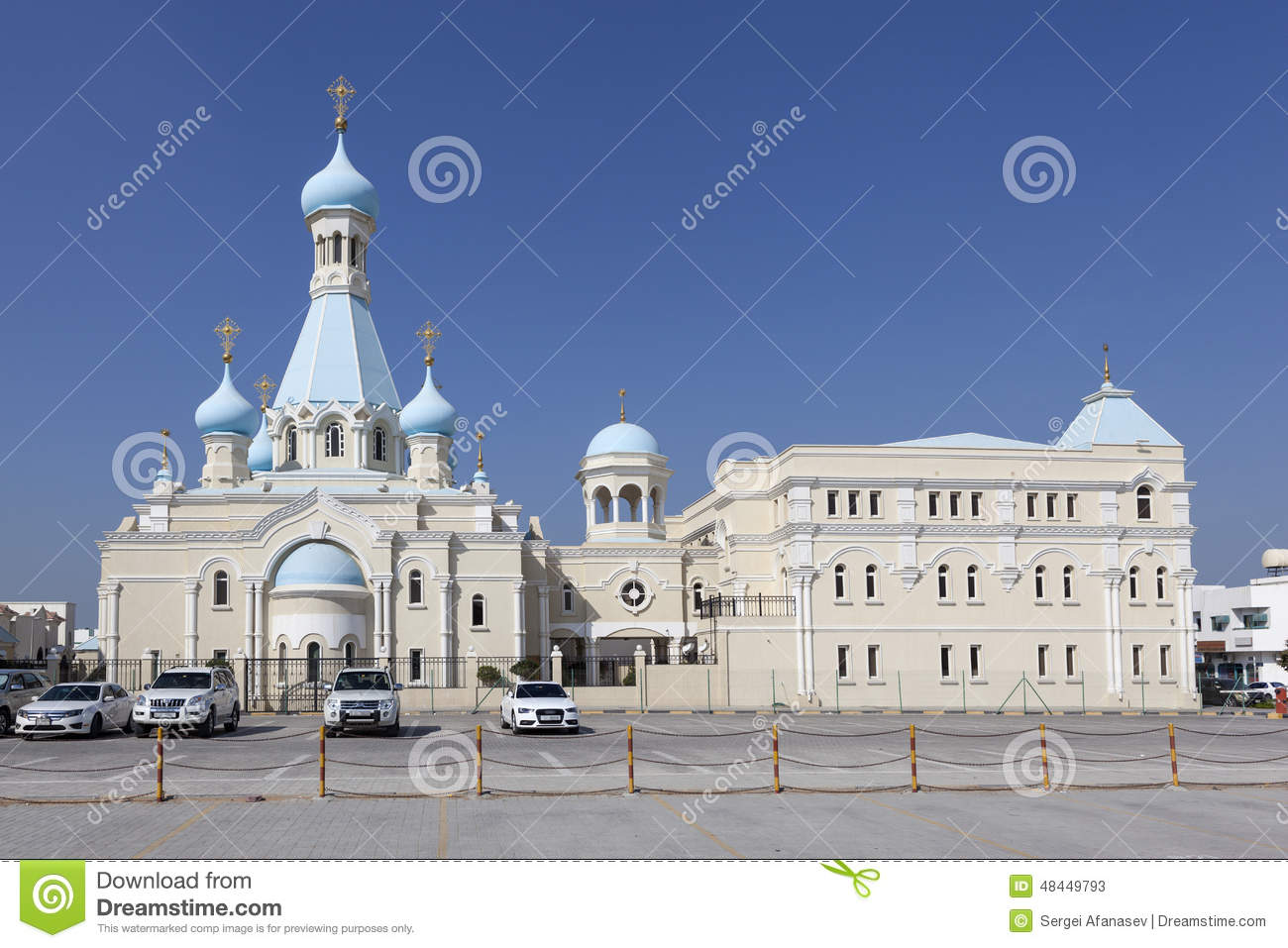 https://thumbs.dreamstime.com/z/russian-church-apostle-philip-sharjah-united-arab-emirates-st-orthodox-first-buildings-arabian-peninsula-48449793.jpg