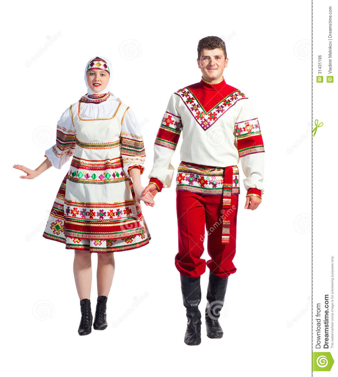Russian Dance Stock Photo. Image Of Color, Fashion, Male