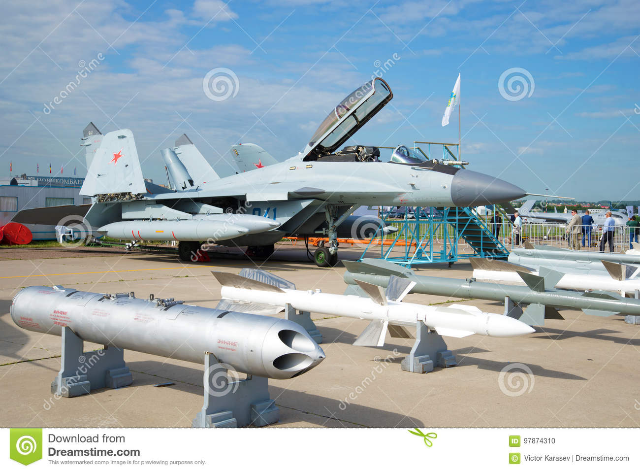 The Russian Deck Multi-purpose Fighter Of The Fourth Generation MiG