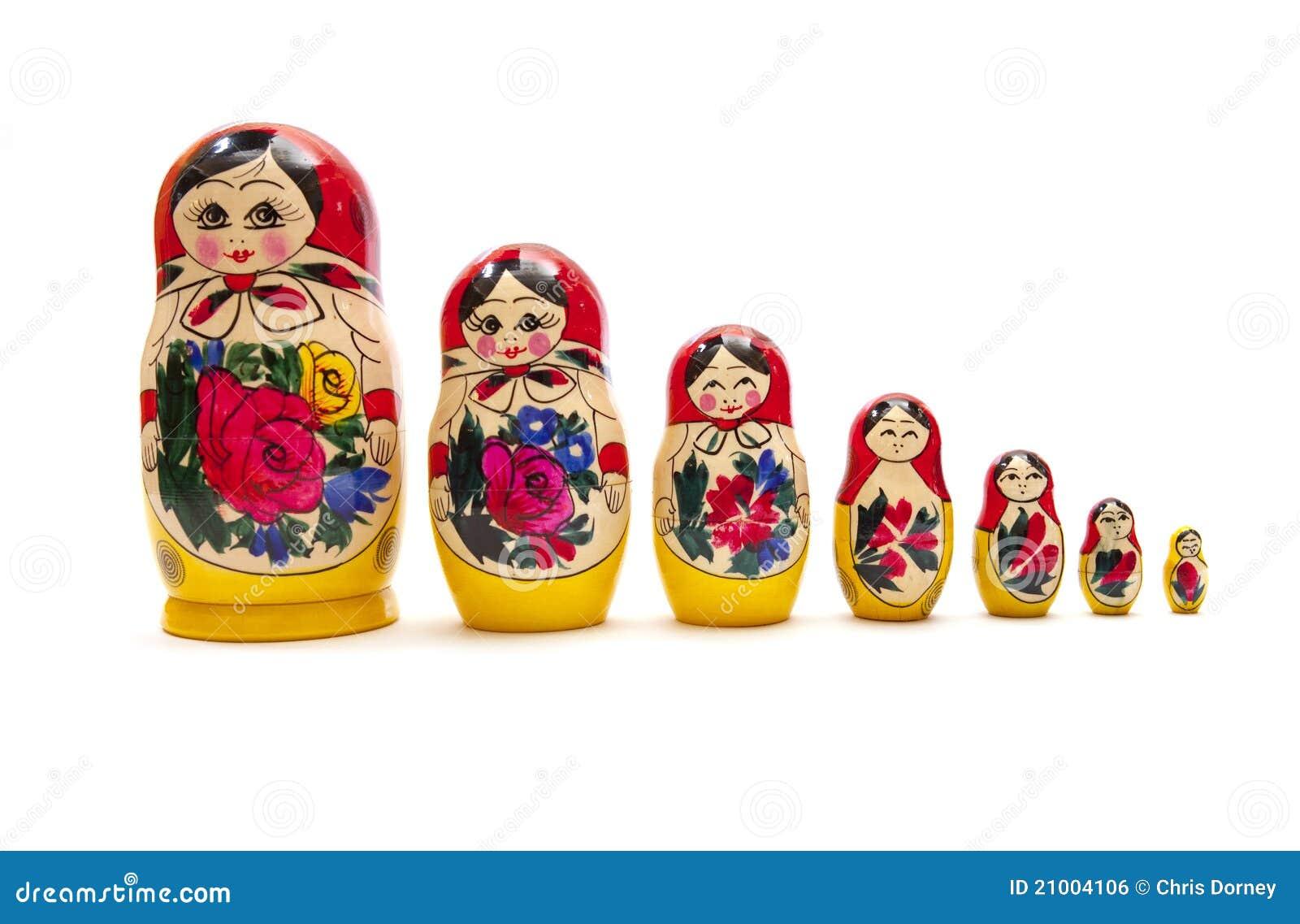 Download Russian Dolls stock photo. Image of perspective, petersburg - 21004106