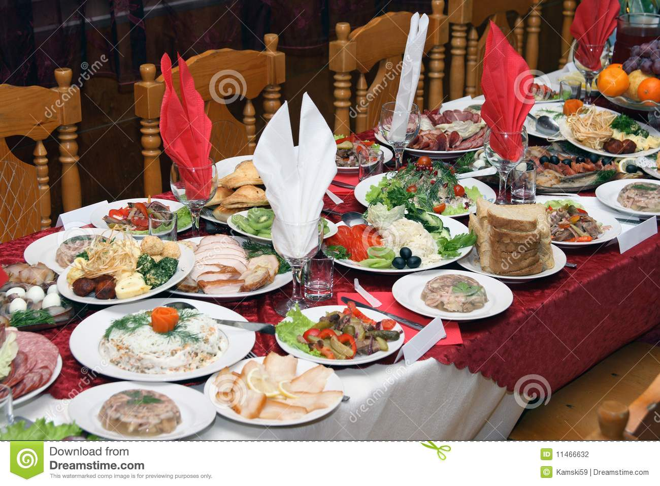 Russian Feast Stock Photography Image 11466632