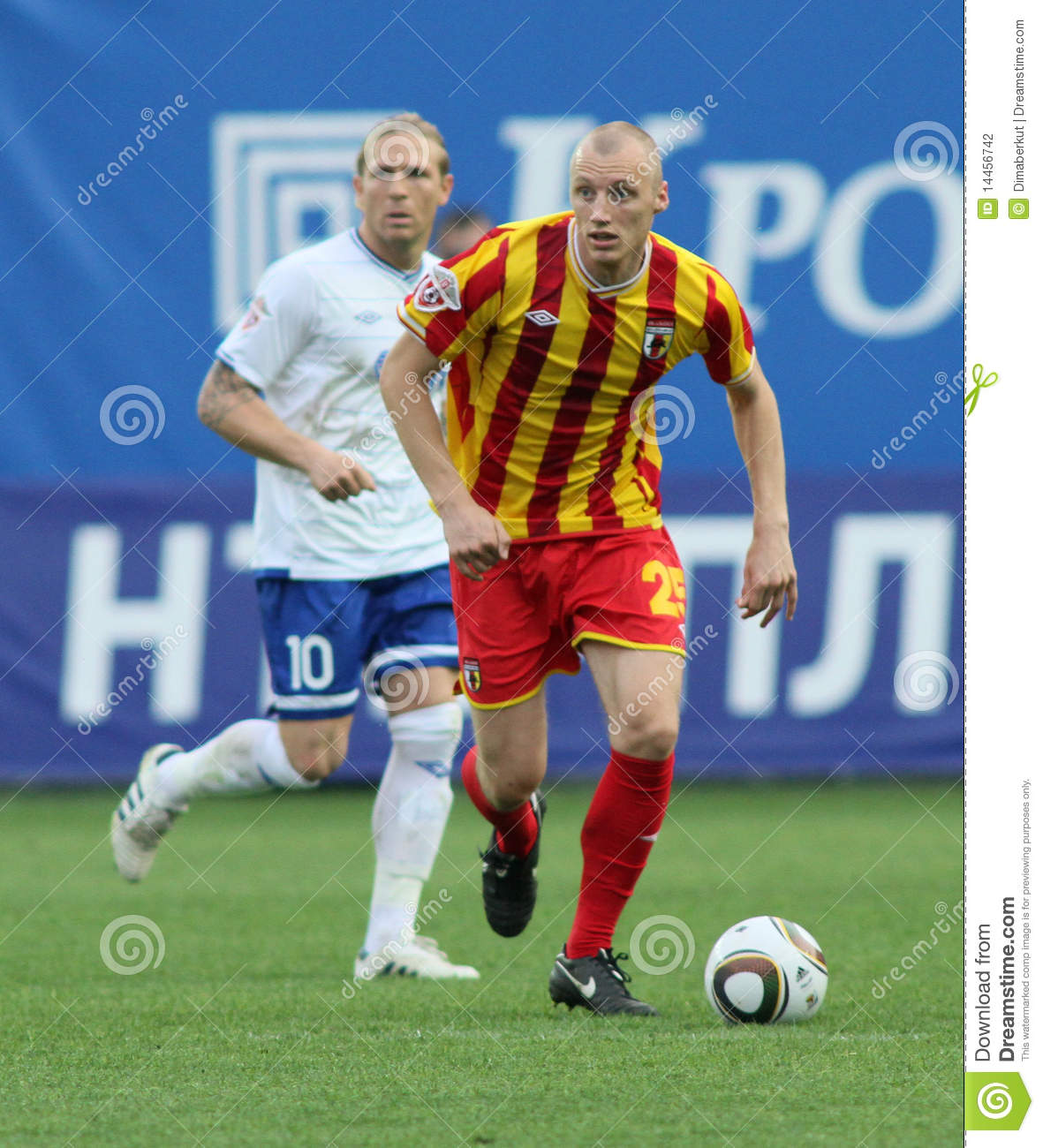 In a game of the 11th round of russian football premier league