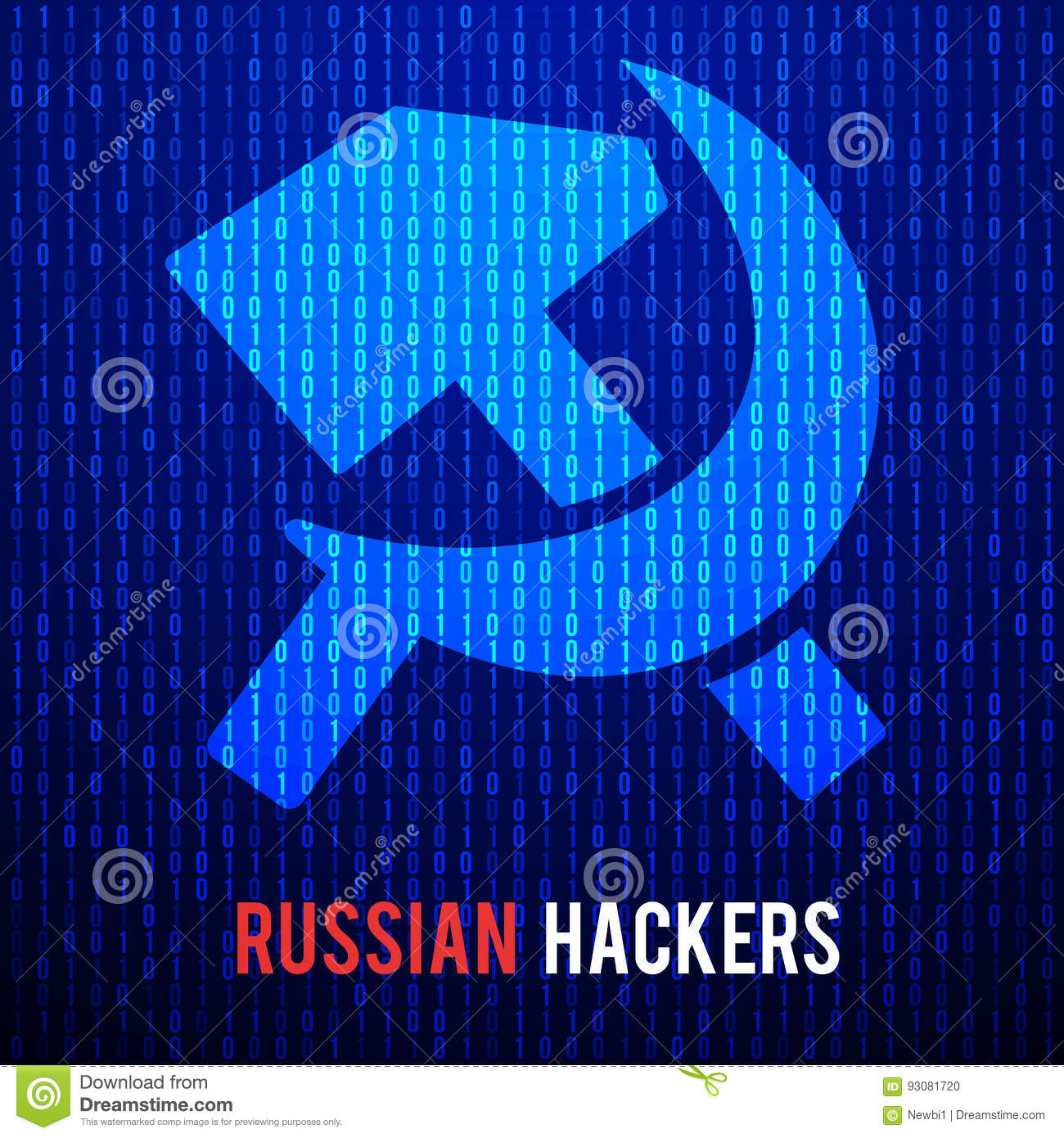 Russian hackers abstract matrix background stock vector russian hackers abstract matrix background biocorpaavc Gallery