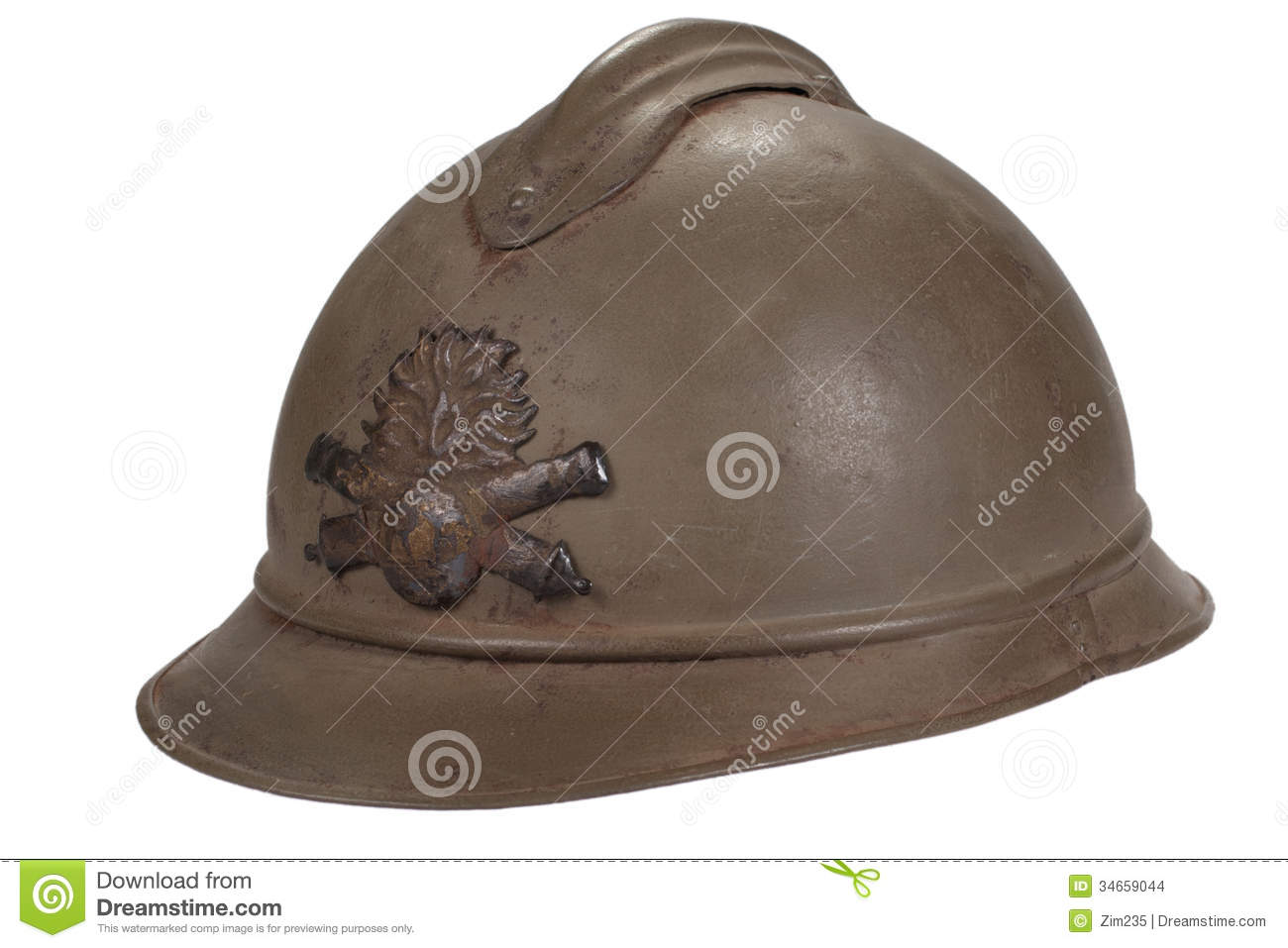 Russian Helmet WW1 Period Stock Images - Image: 34659044