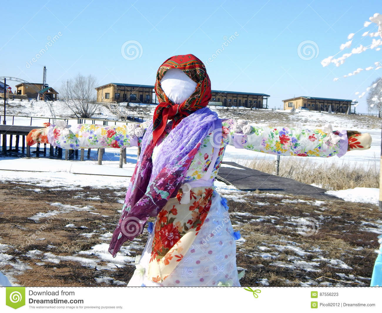 Russian holiday in spring