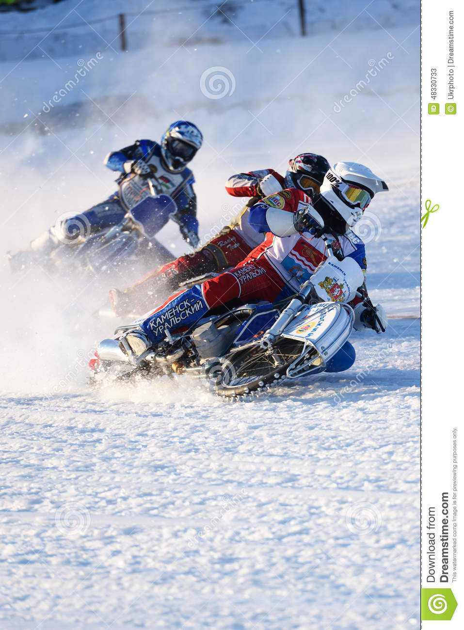 Russian ice speedway chionship. the sports returns to the sport
