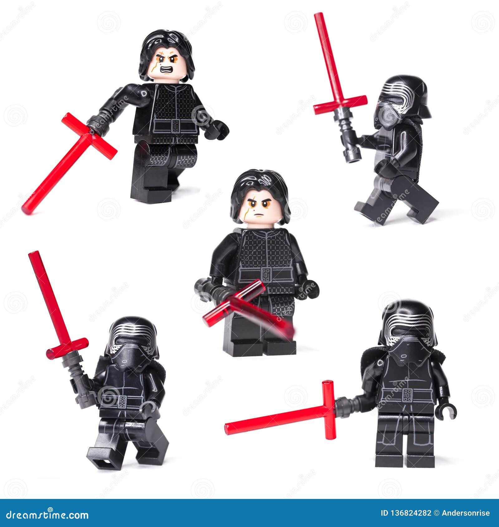 Lego star wars kylo ren mini figures of lego star wars saga