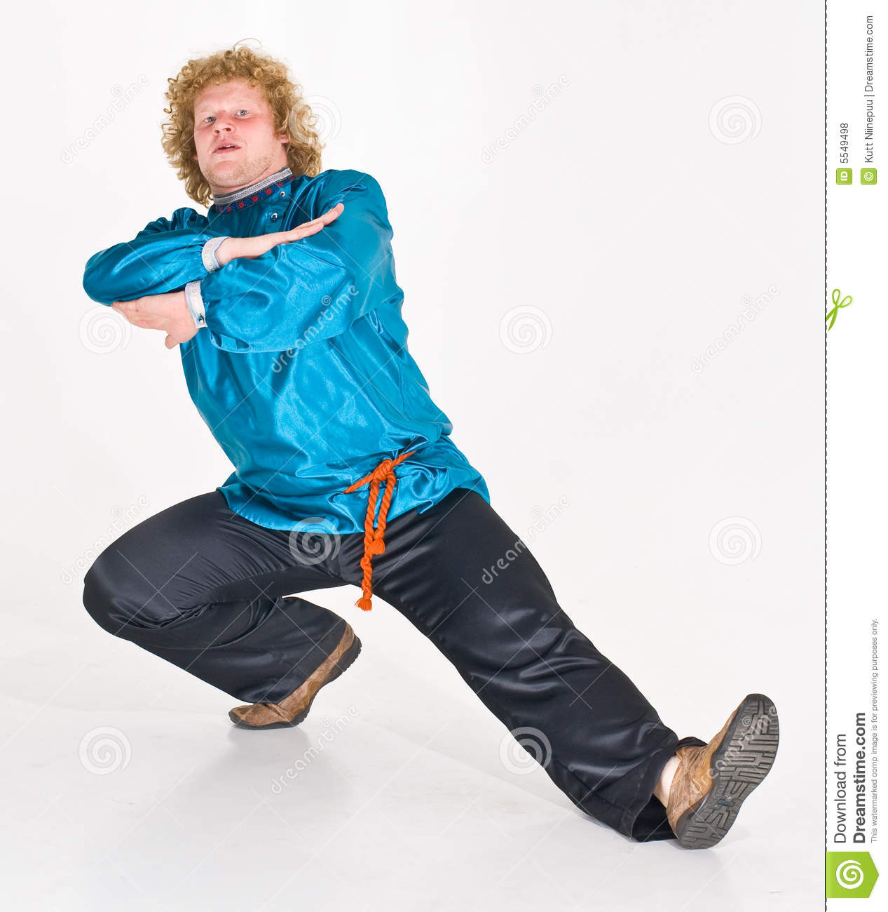 Russian Man Dancing stock photo. Image of expressions