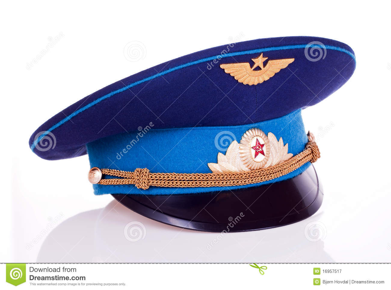 7f273f32f Russian military cap stock image. Image of gold, european - 16957517