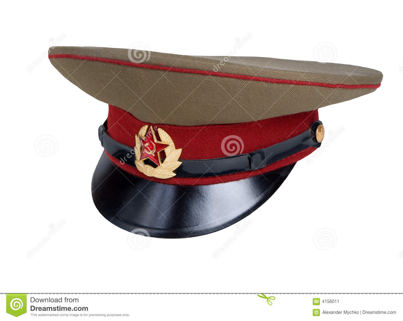 25a4a3216 Russian Military Cap stock image. Image of army, uniformed - 4156011