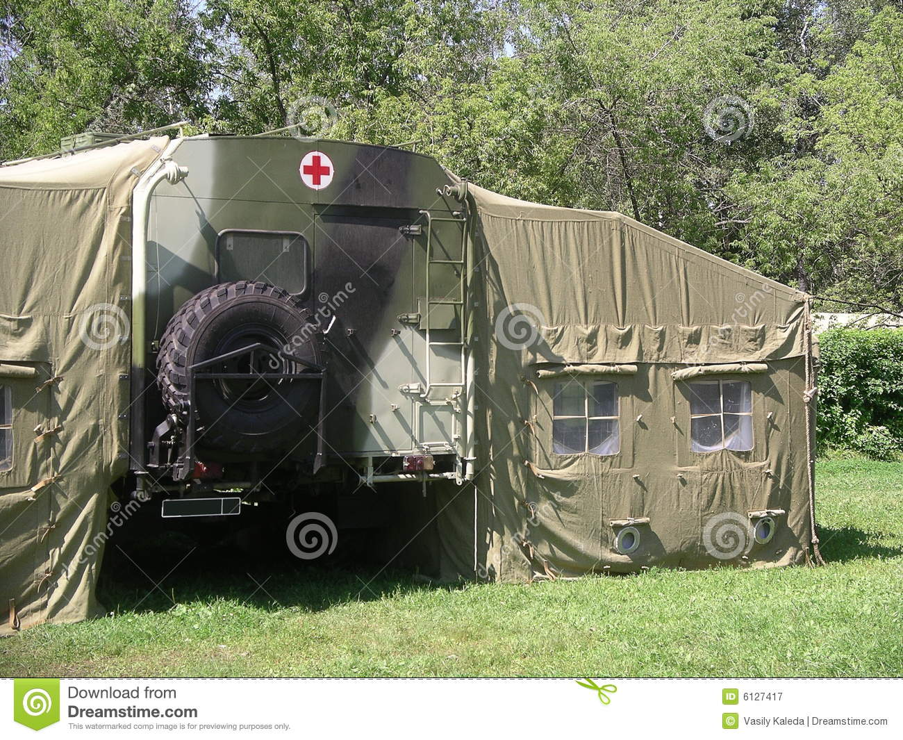 Russian Military Hospital & Russian Military Hospital stock image. Image of casualty - 6127417