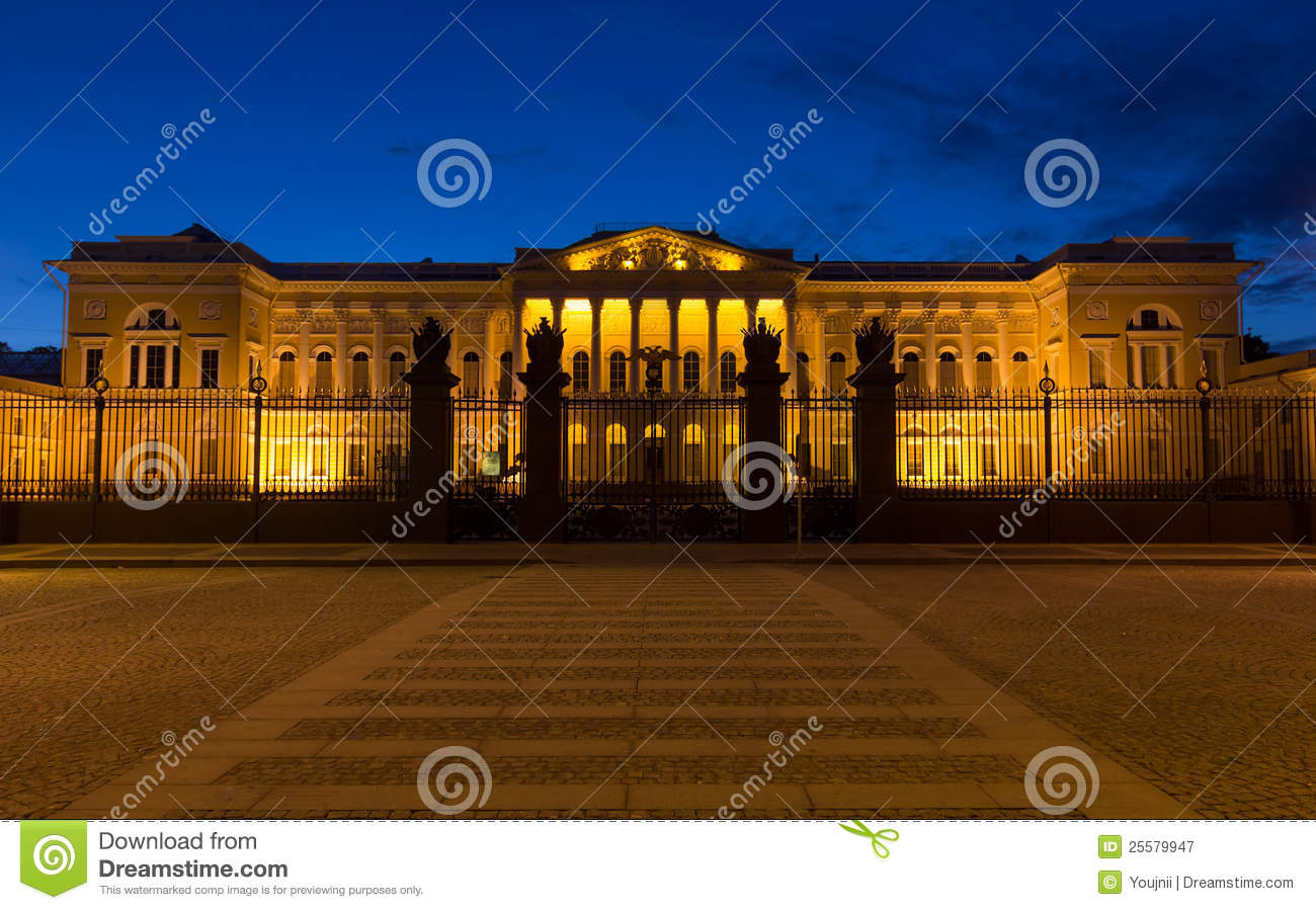 Russian Museum in White Nights