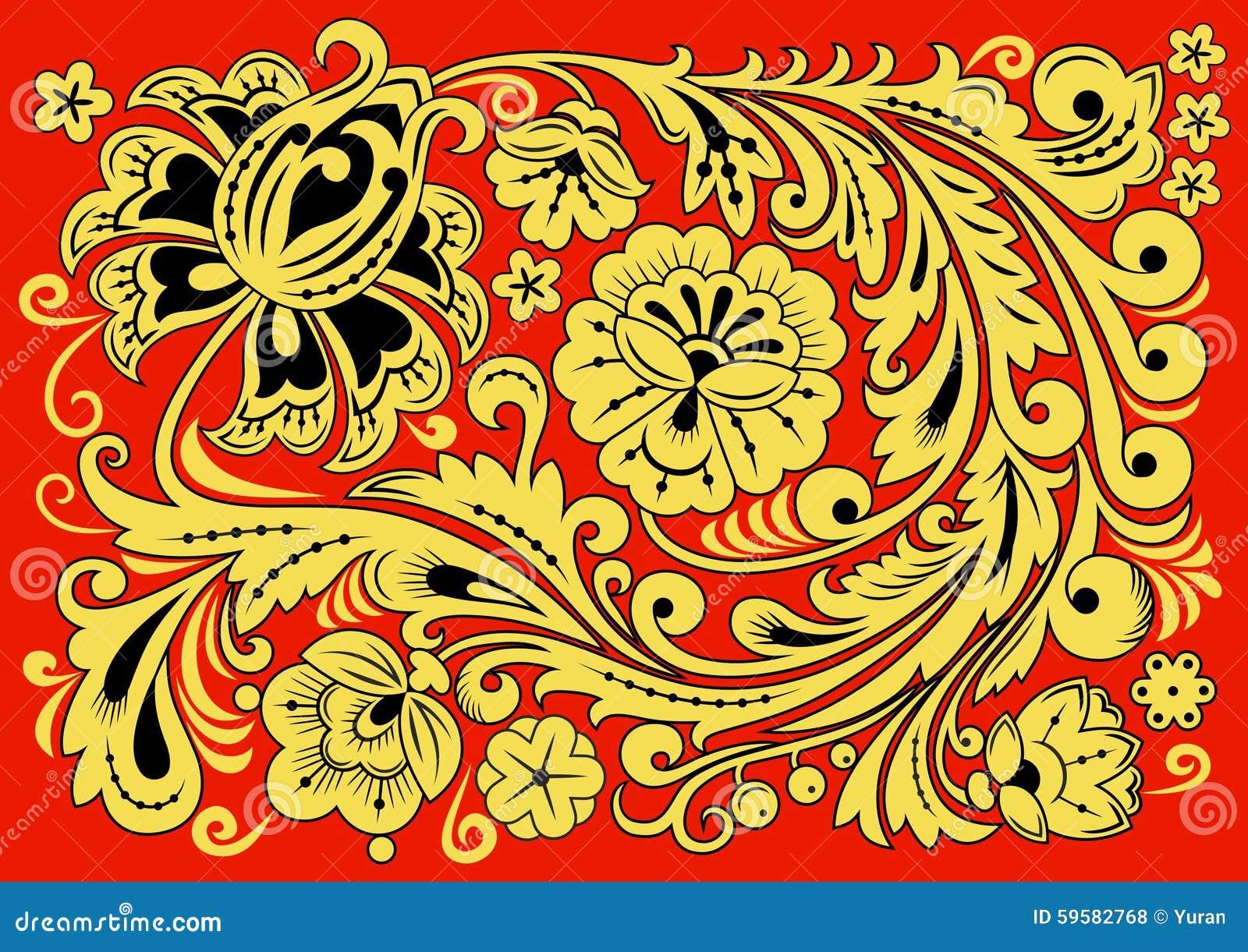 Русский орнамент и узоры фото
