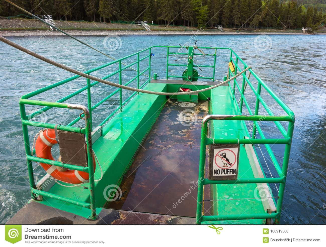 The russian river ferry stock photo. Image of drifter - 7