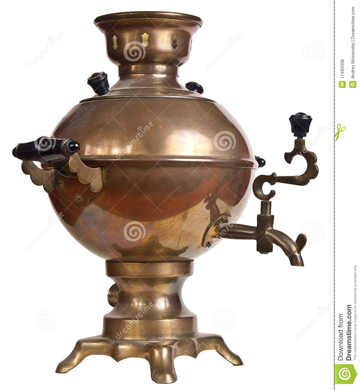 Russian Samovar Royalty Free Stock Photos Image 17493338