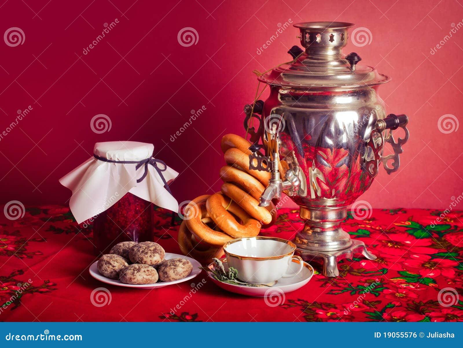 russian tea royalty free stock image image 19055576. Black Bedroom Furniture Sets. Home Design Ideas