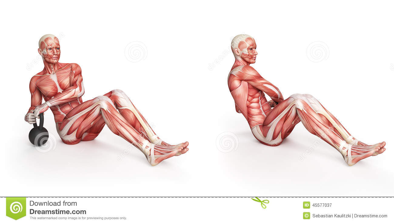 Russian Twist Stock Illustration - Image: 45577037
