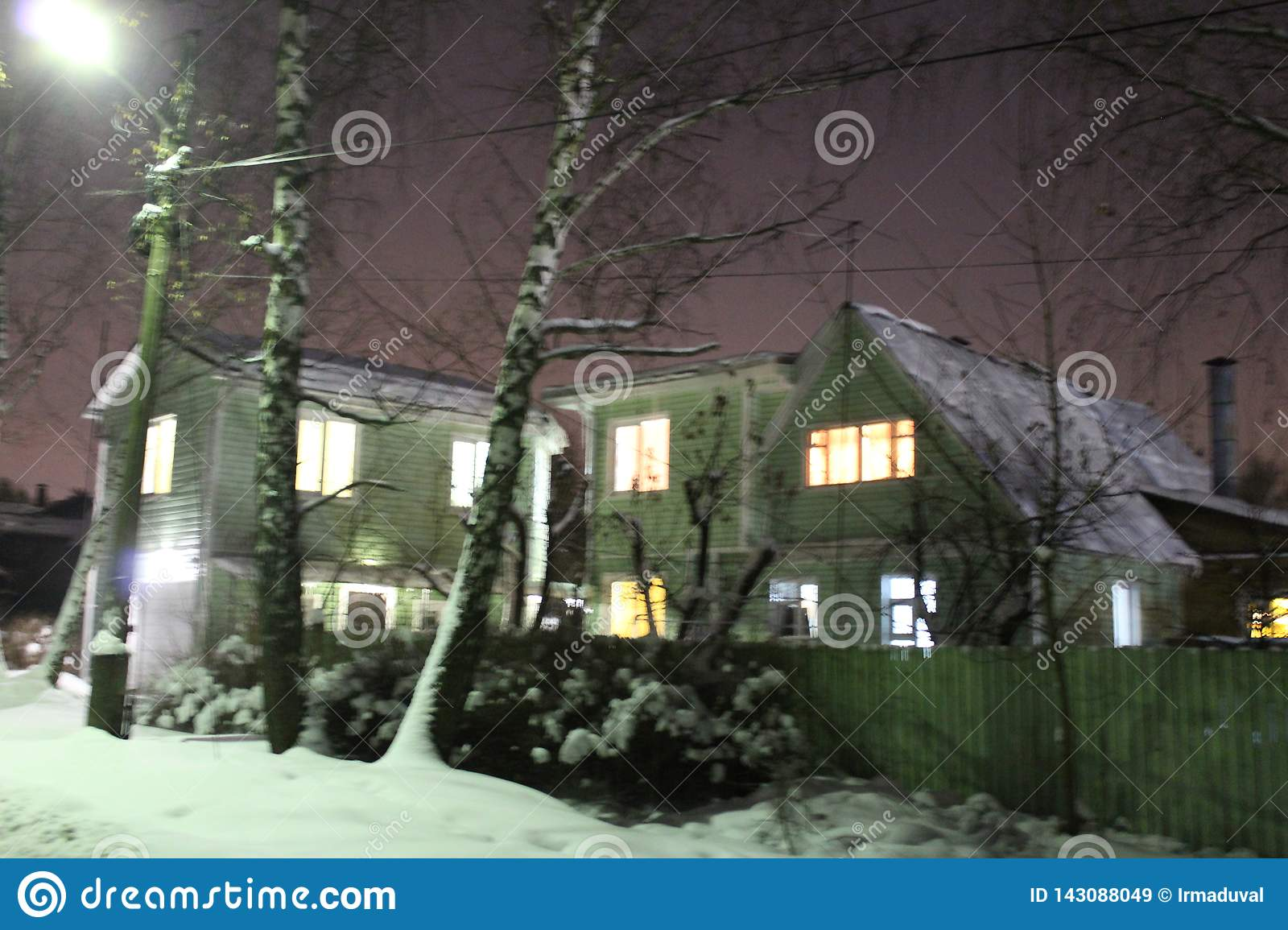 When Is Russian Christmas.Russian Winter Home Stock Image Image Of Christmas 143088049