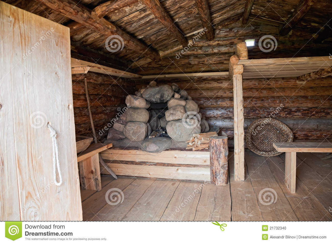 Russian Wooden House X Century Stock Photo Image 21732340