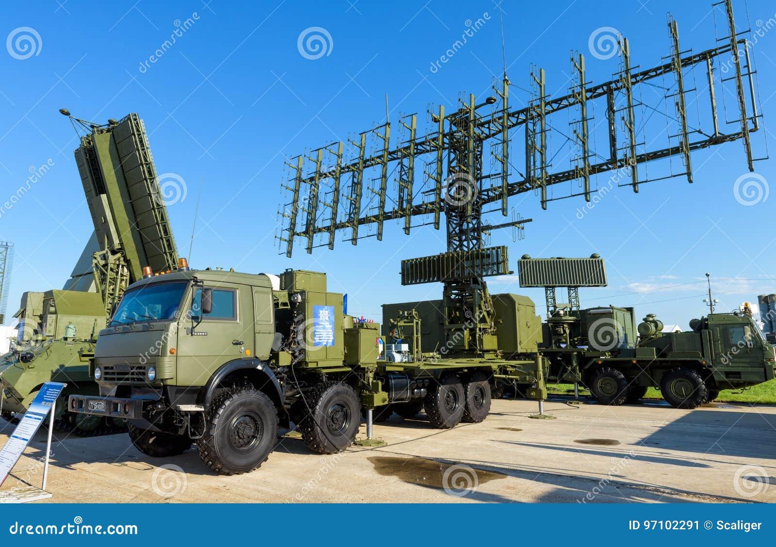 Russische Bewegliche Radarstationen An MAKS-2017 ...