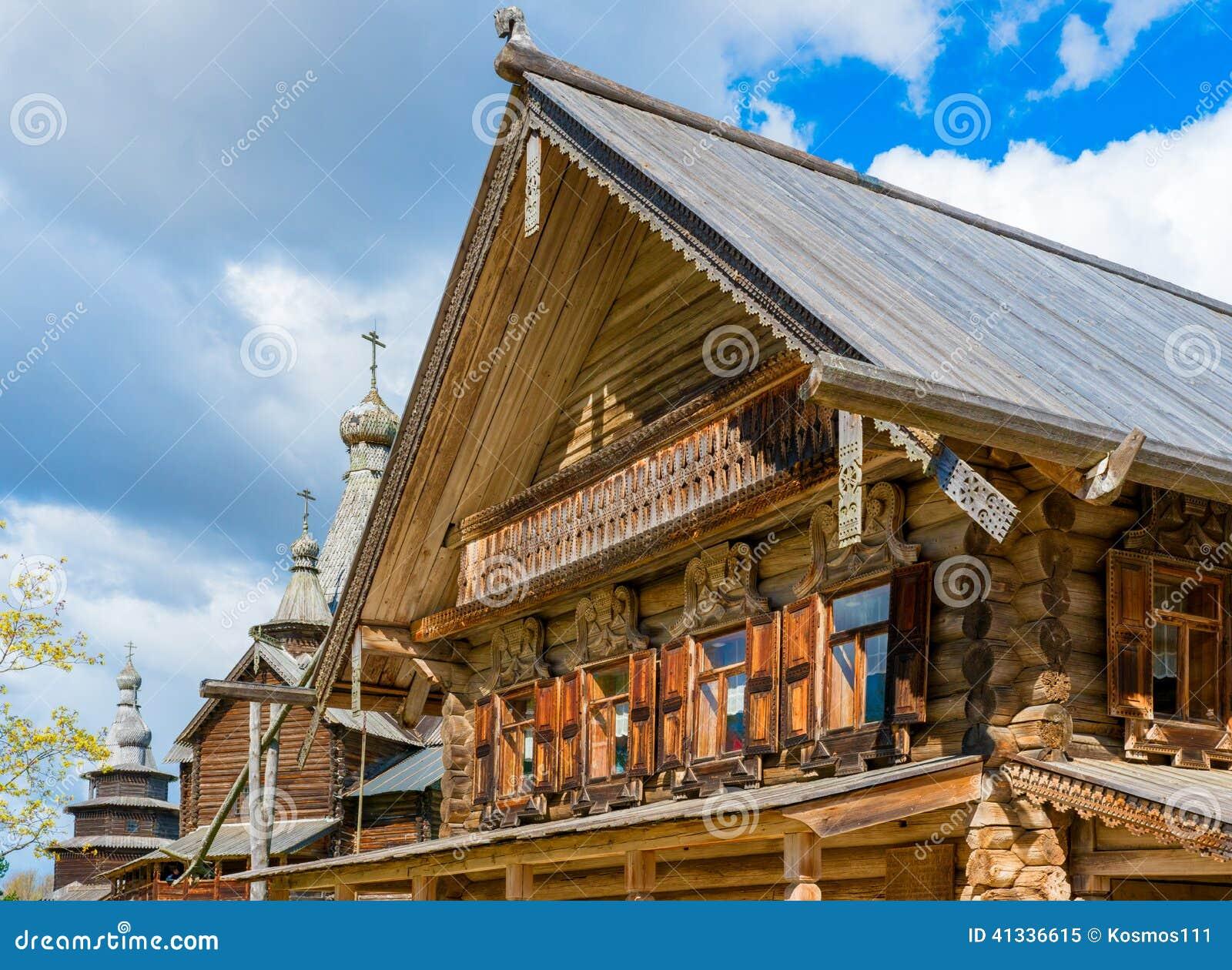 Russische huizen van de middeleeuwen stock afbeelding afbeelding 41336615 - Huizen van de wereldbank ...