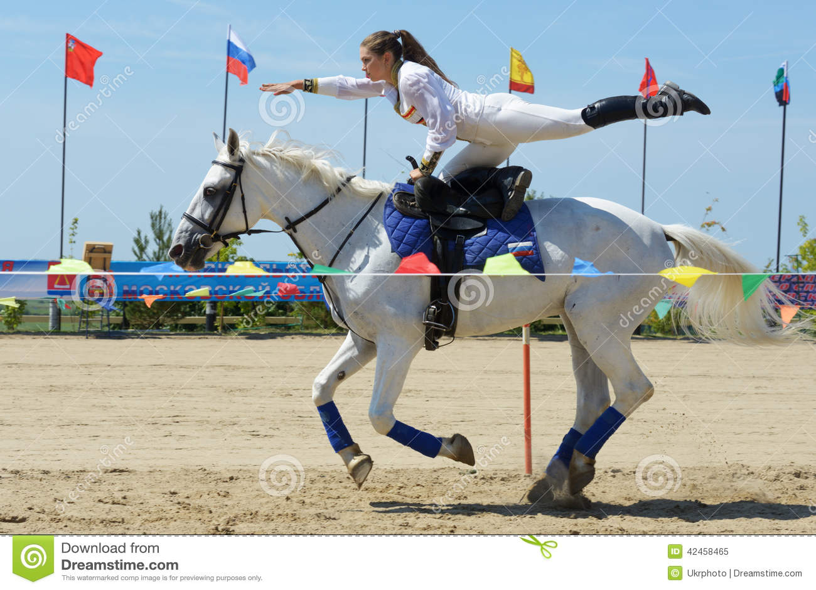 Russische Meisterschaft im Trickreiten