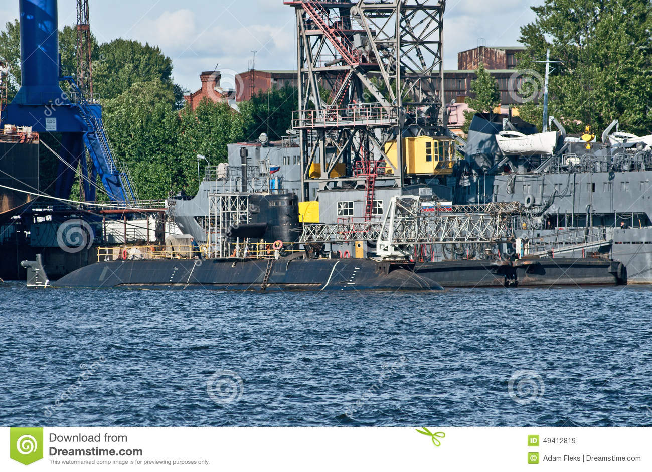 Download Russisches Unterseeboot In St Petersburg, Russland Redaktionelles Stockbild - Bild von petersburg, aufgebaut: 49412819