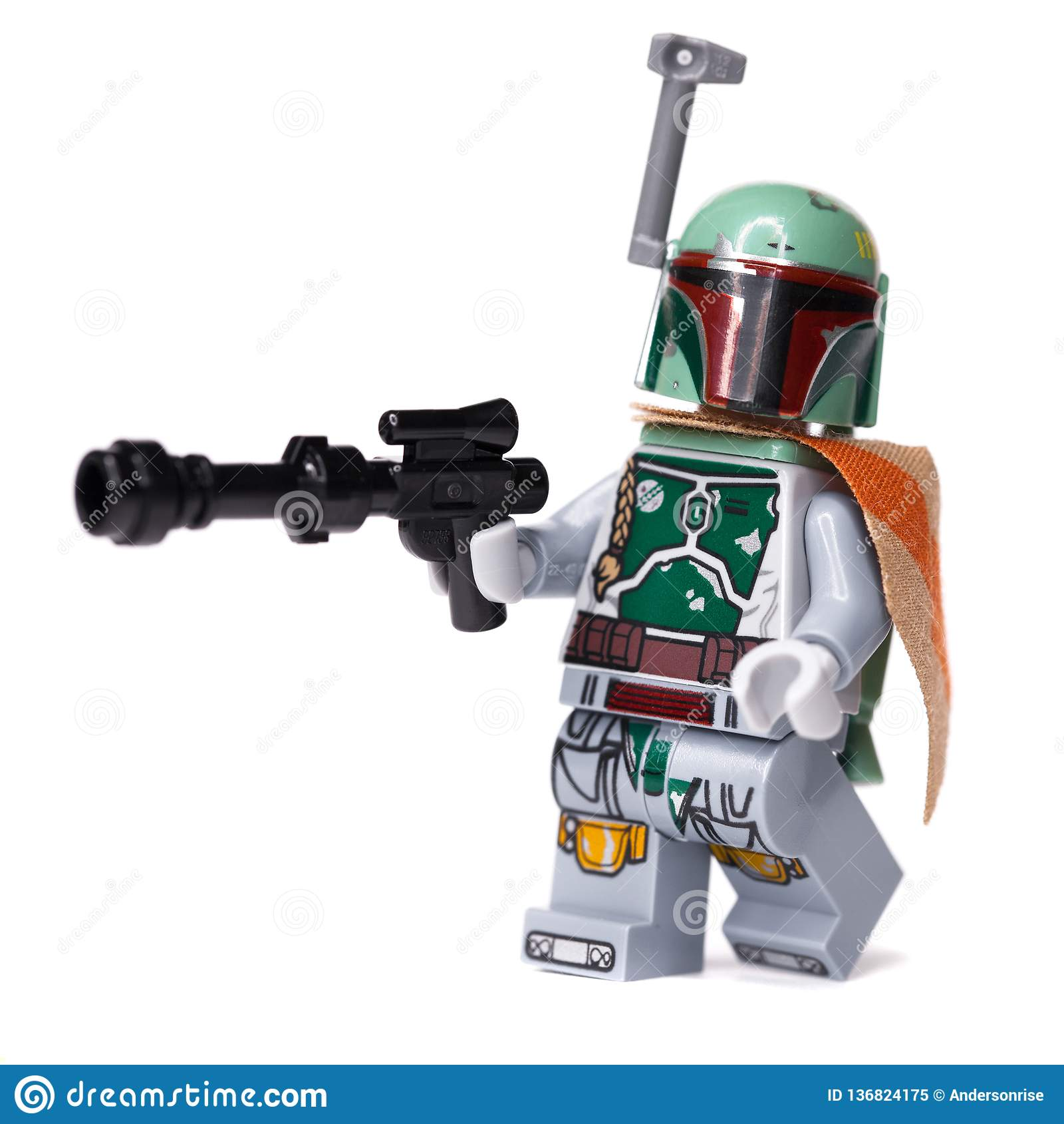 RUSSO, 16, 2019 Construtor Lego Star Wars Caçador de prêmios de Boba Fett