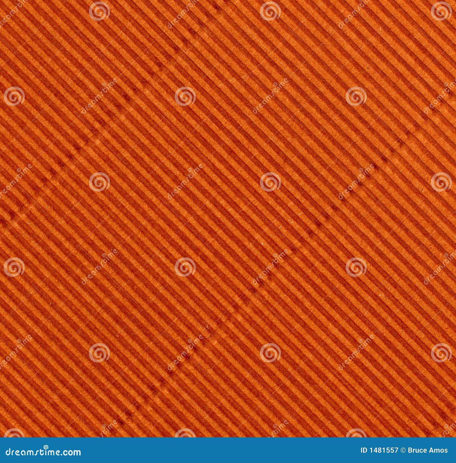 Rust-colored corrugations