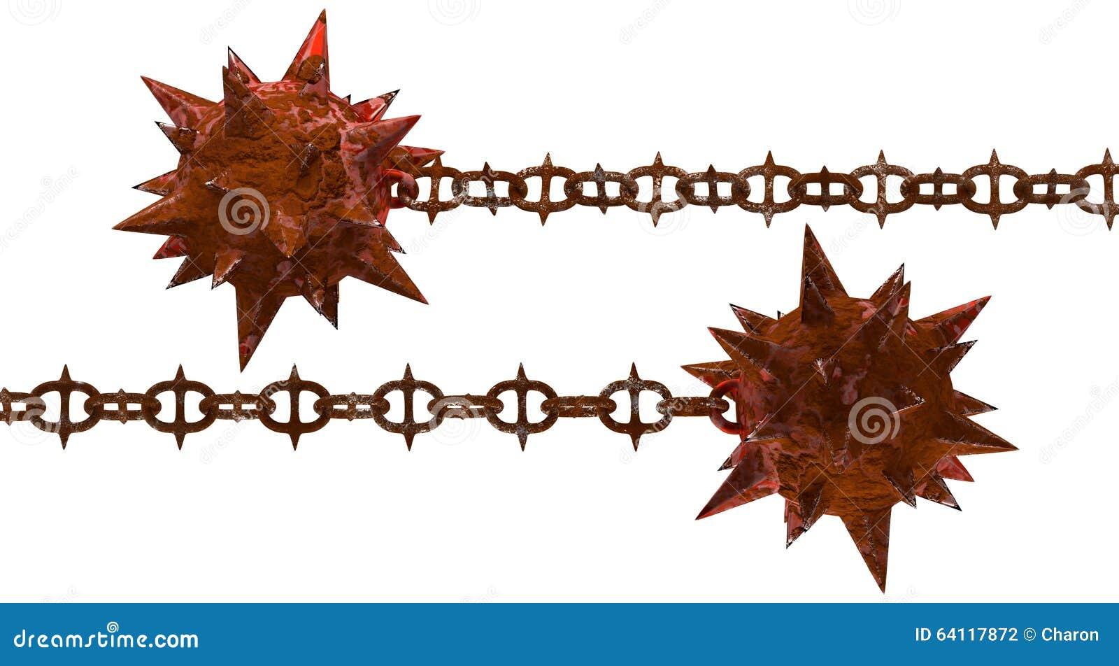 Rusty Iron Texture Rust Meteor Hammer Wit...