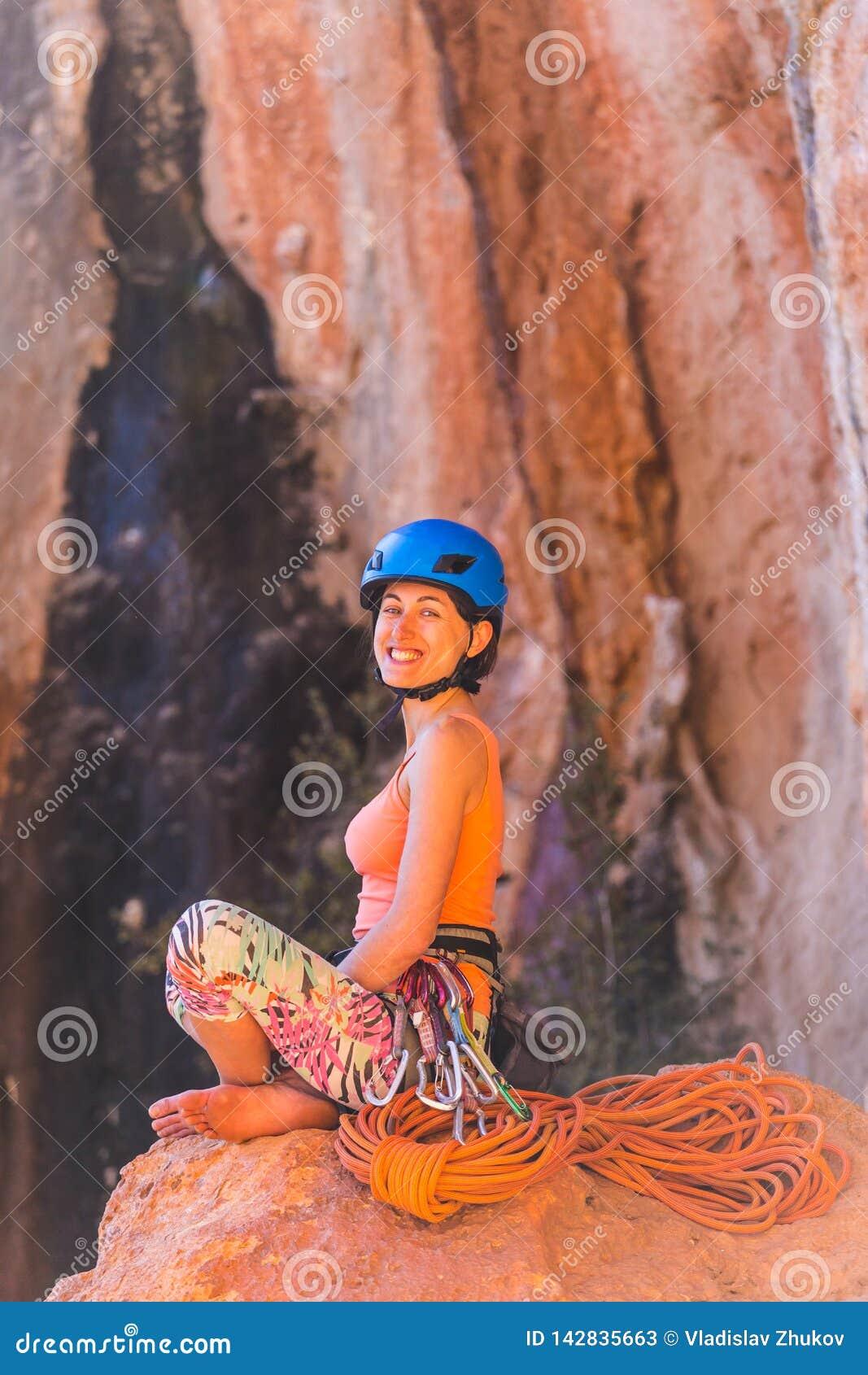 Rust na het beklimmen