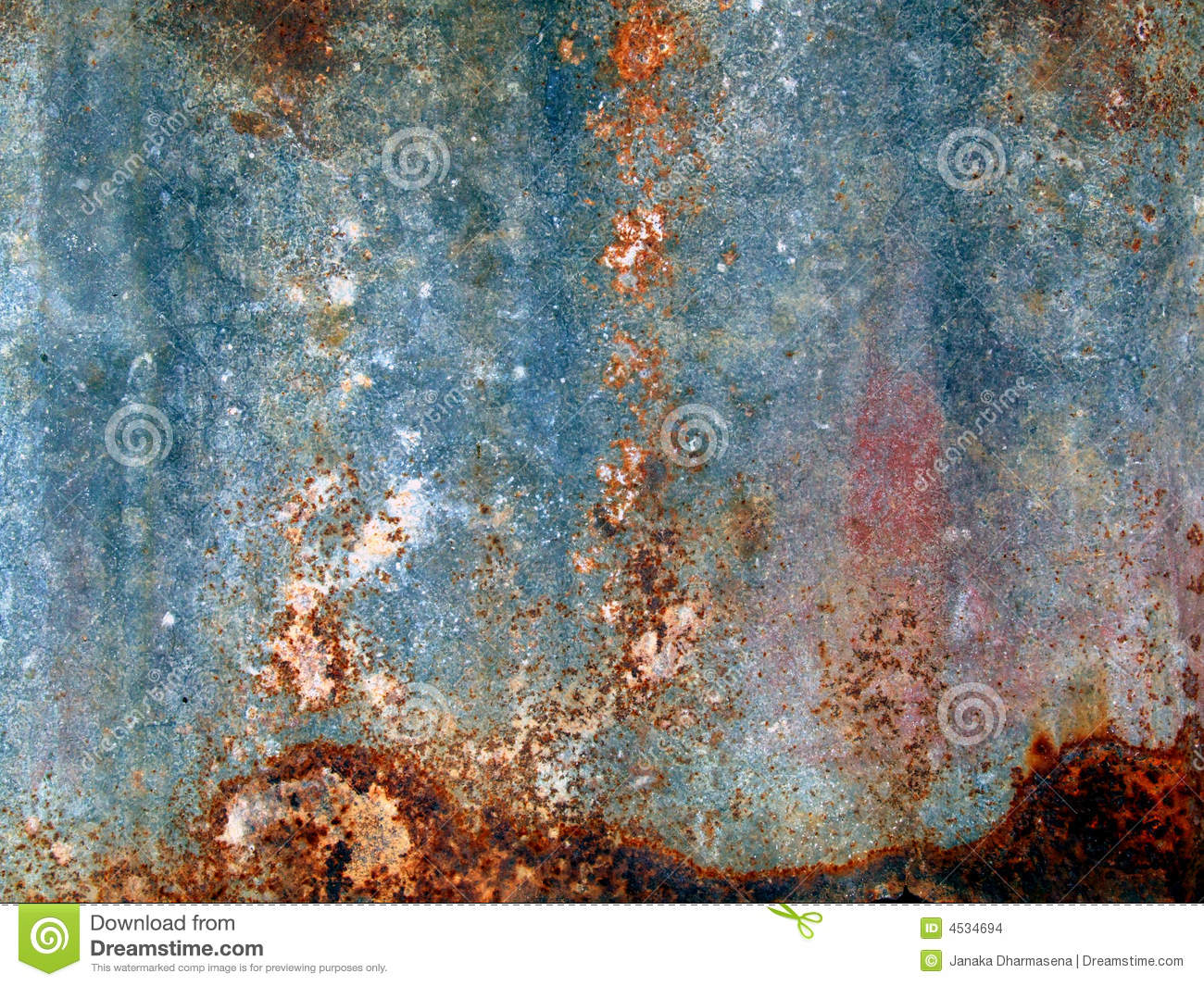 Rust old metal texture