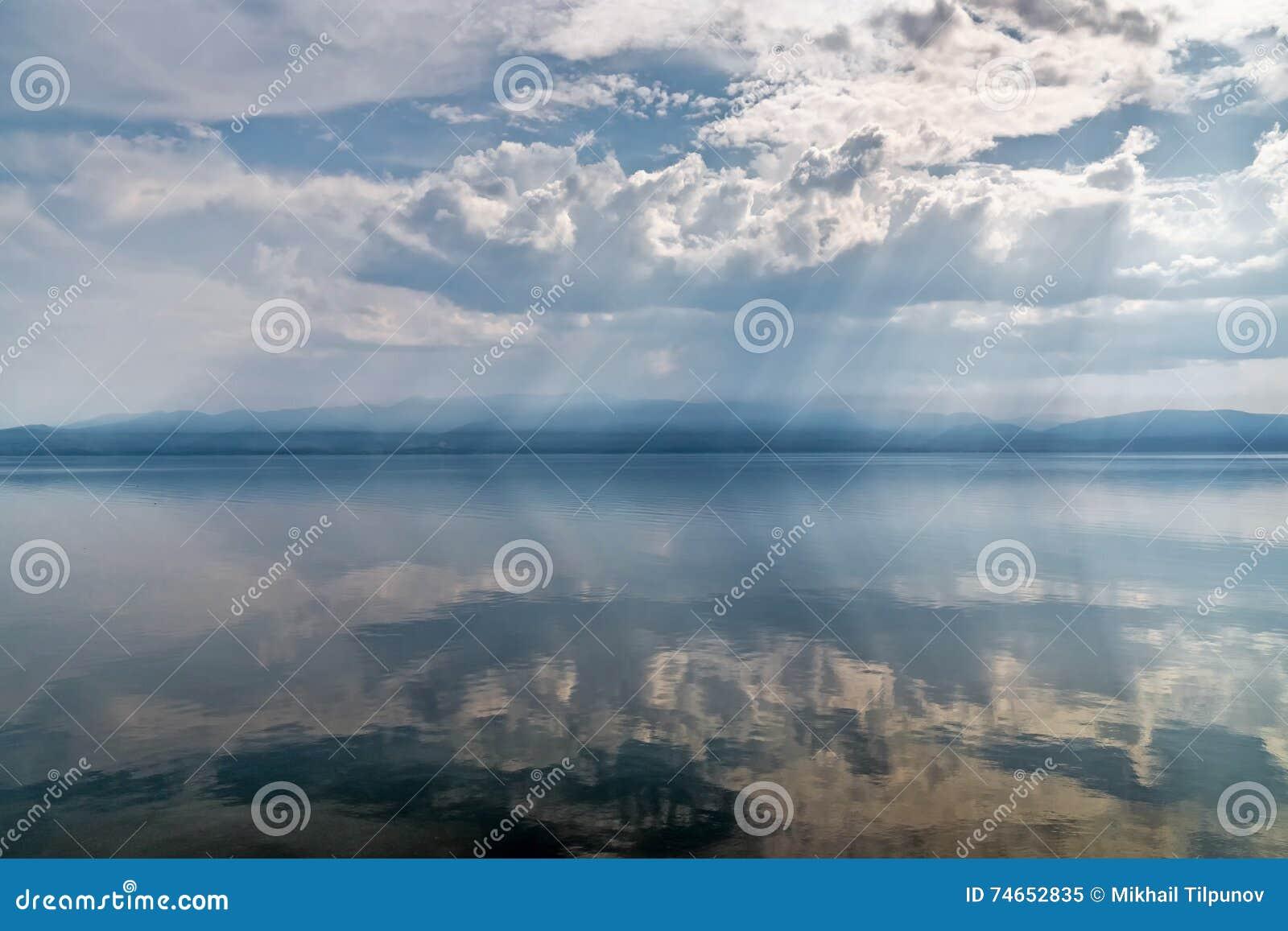 Rust op het meer Baikal