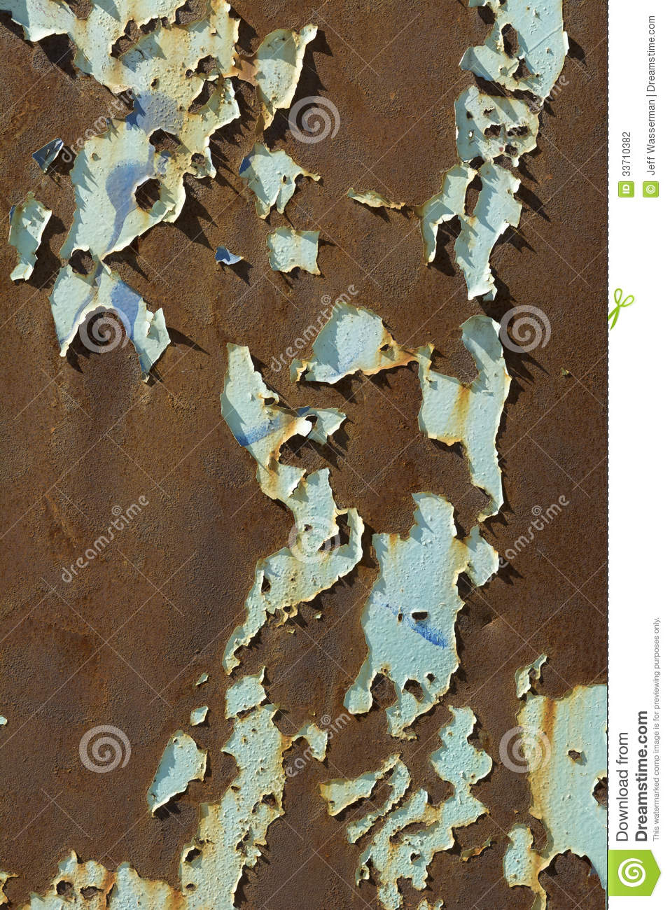 Rust And Peeling Paint Stock Photography Image 33710382