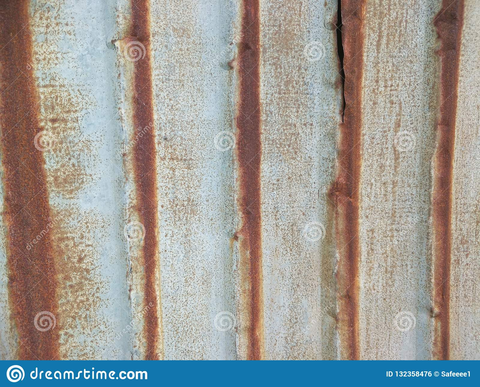 Rust on the wall stock photo  Image of iron, usually - 132358476