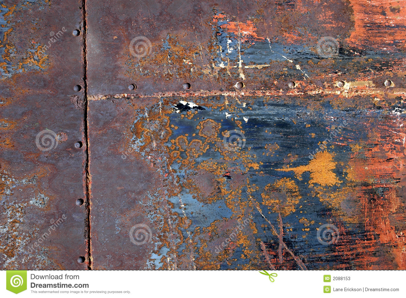 Rusted Metal Background 13
