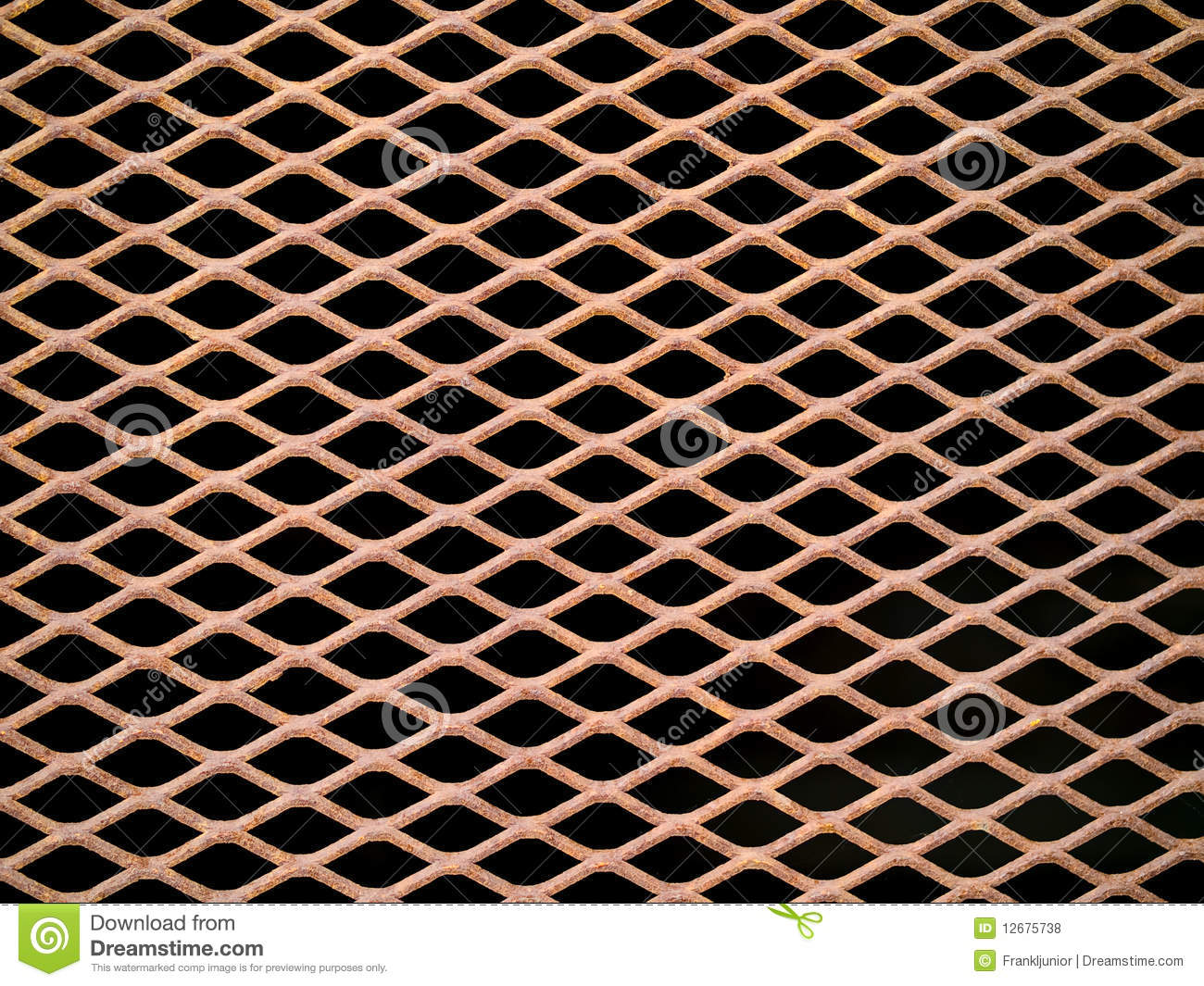 Rusted Metal Grate Royalty Free Stock Photos Image 12675738