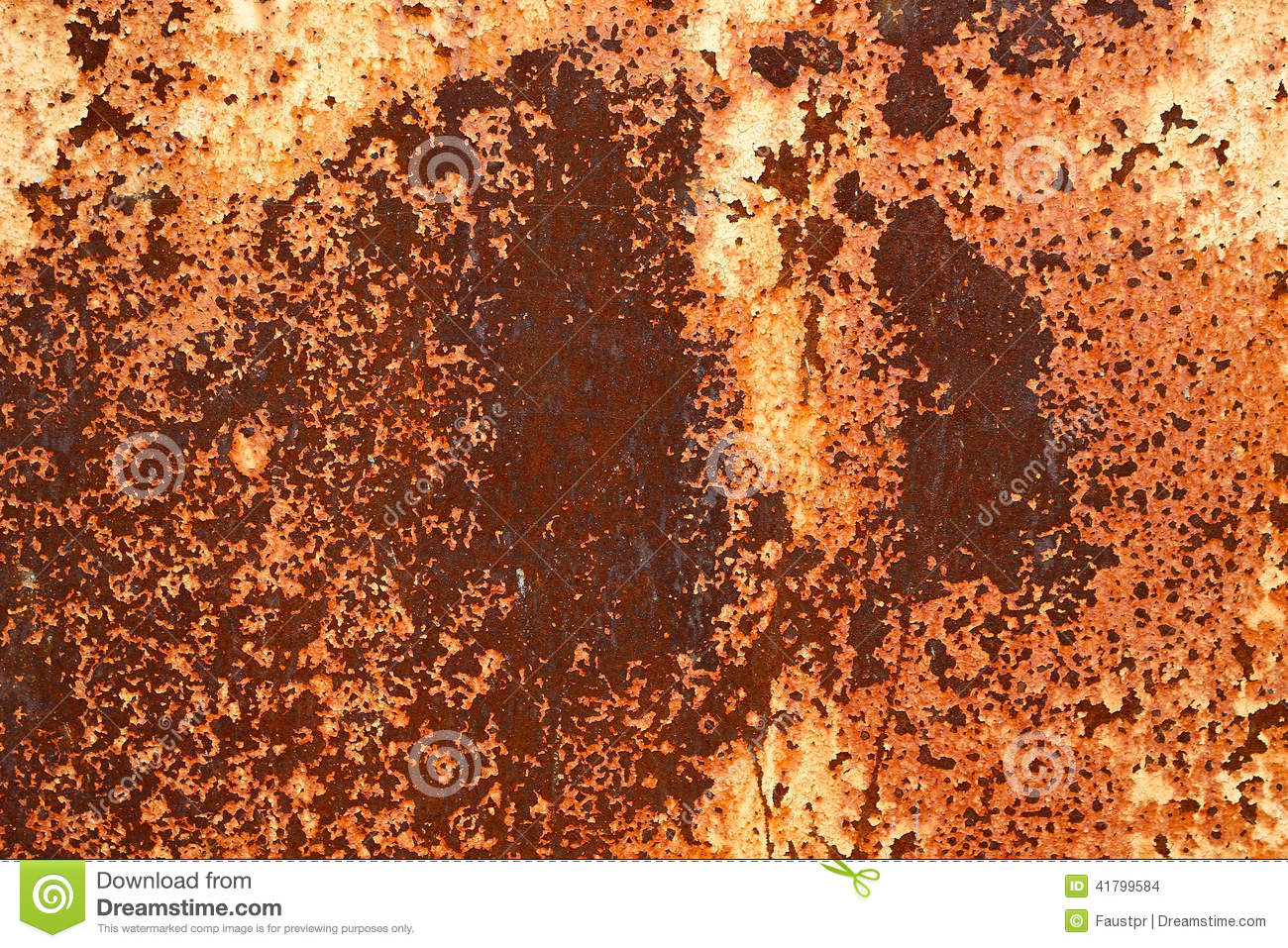 Rusted metal plates - grungy industrial construction background