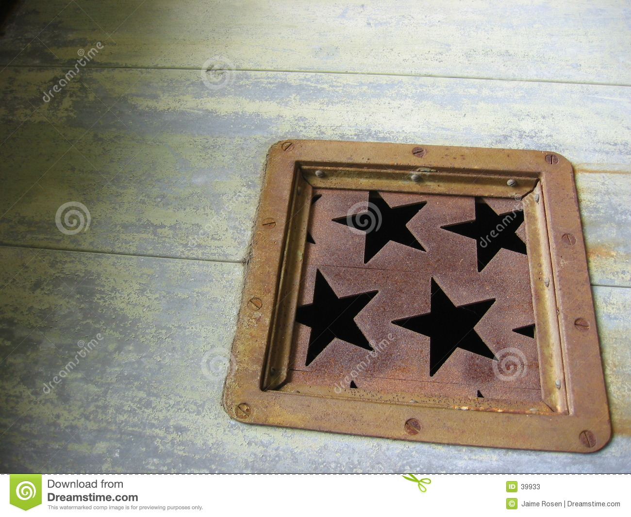 Rusted stars