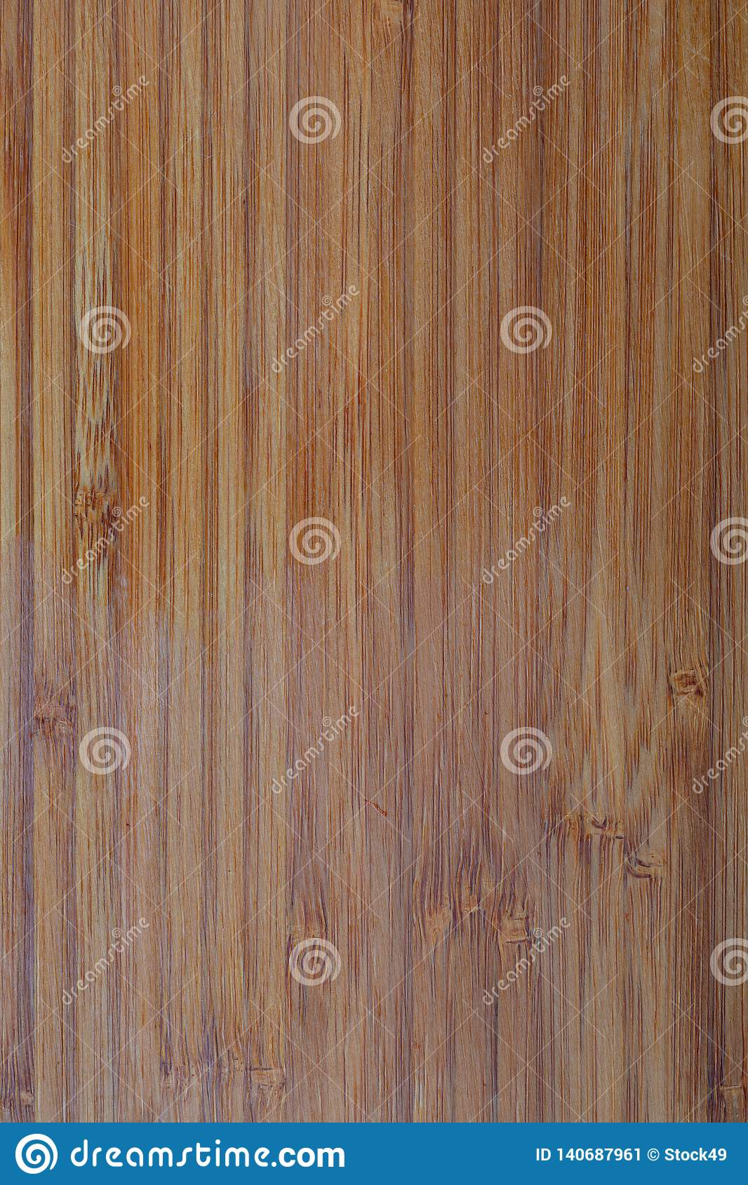 Rustic bamboo texture. Vertical lines.