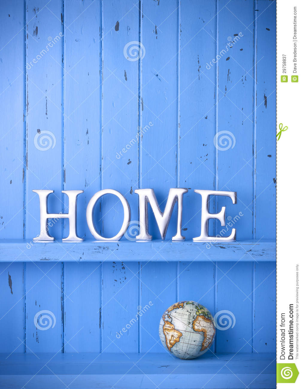 Home World Background Decor Royalty Free Stock Photography