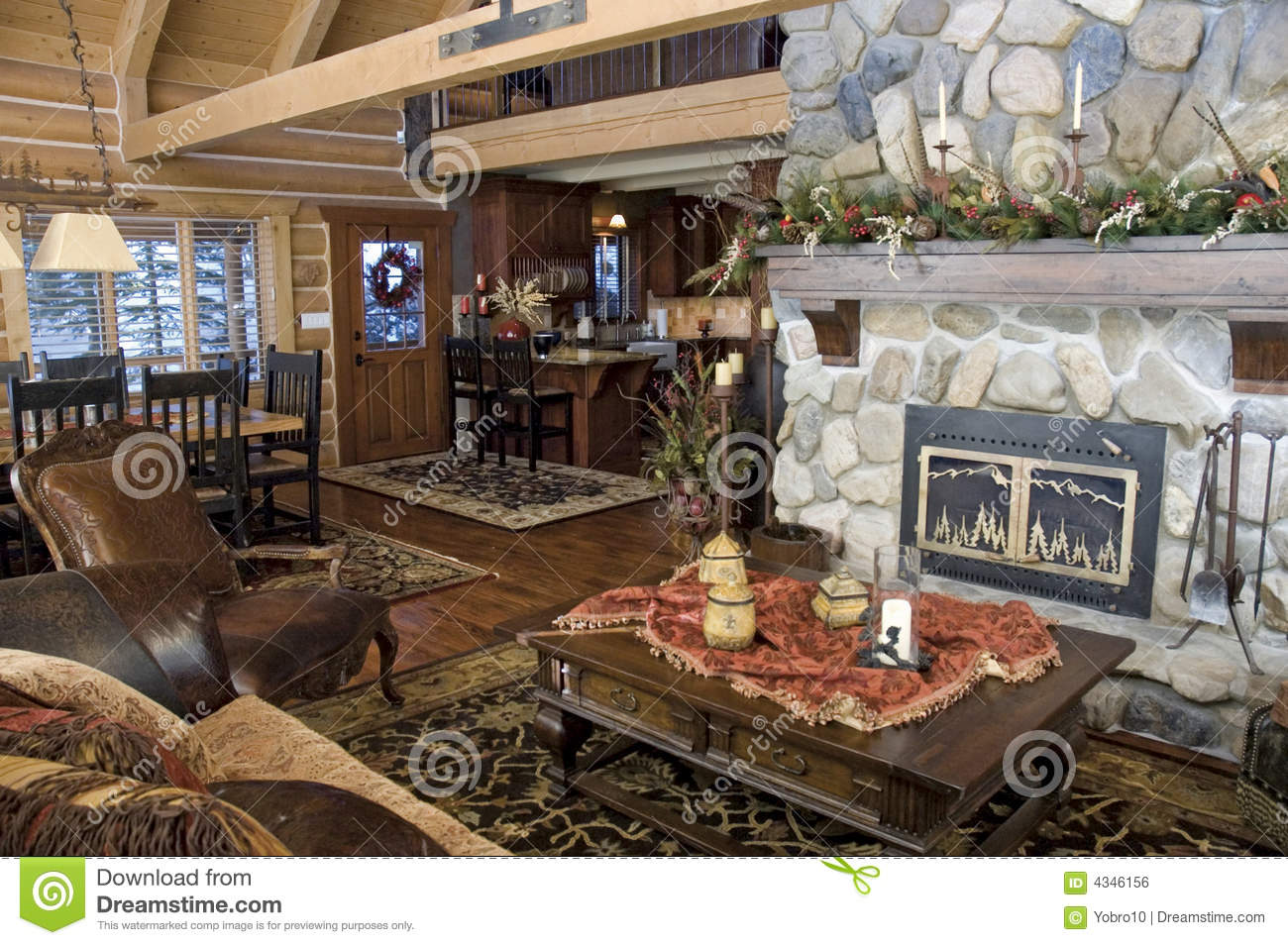 Rustic Cabin Royalty Free Stock Image - Image: 4346156