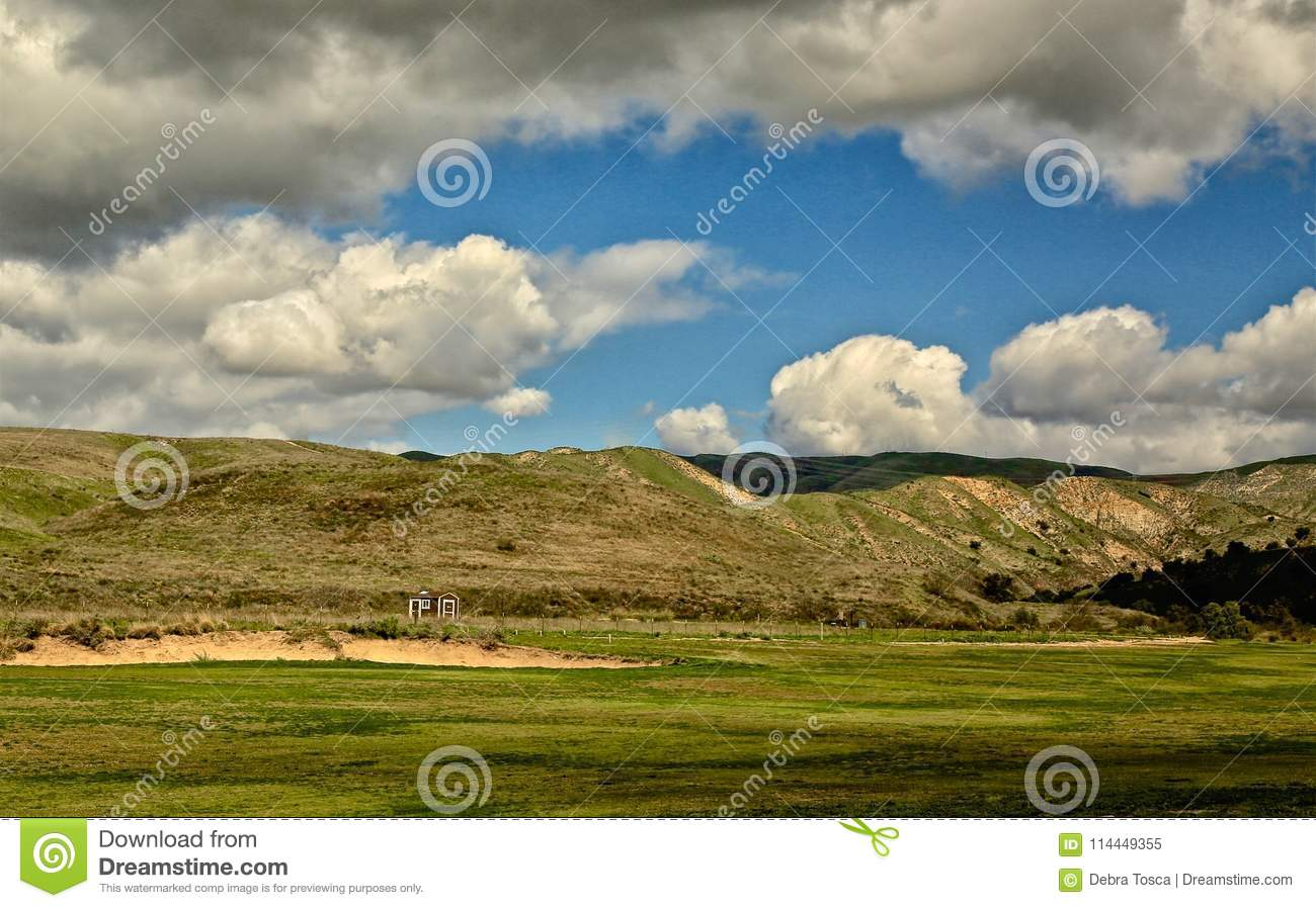 Rustic Canyon Golf Course Moorpark California Stock Image